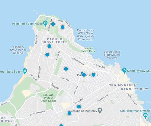 pacific grove mls map search