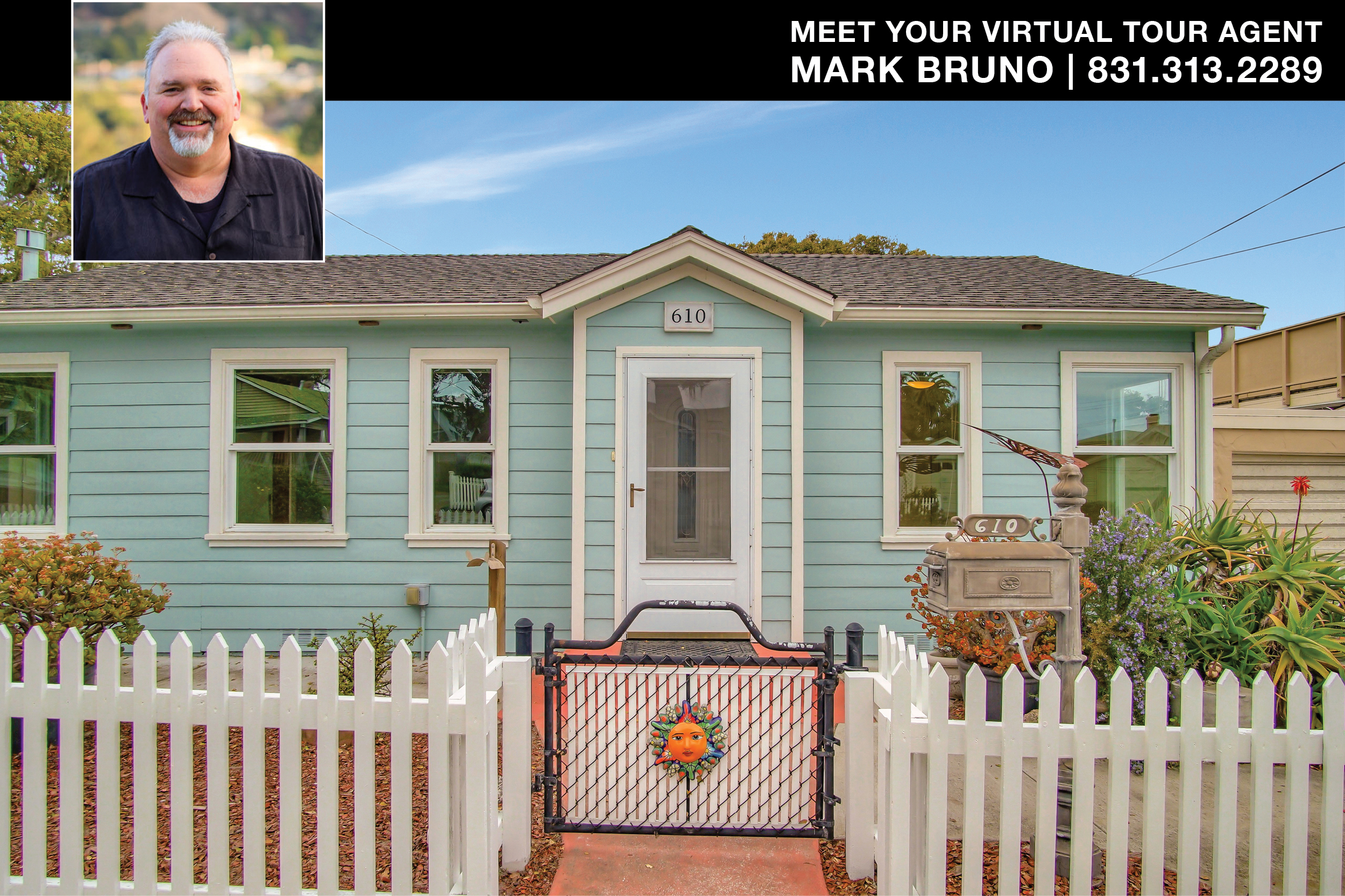 Pacific Grove Cottage for sale