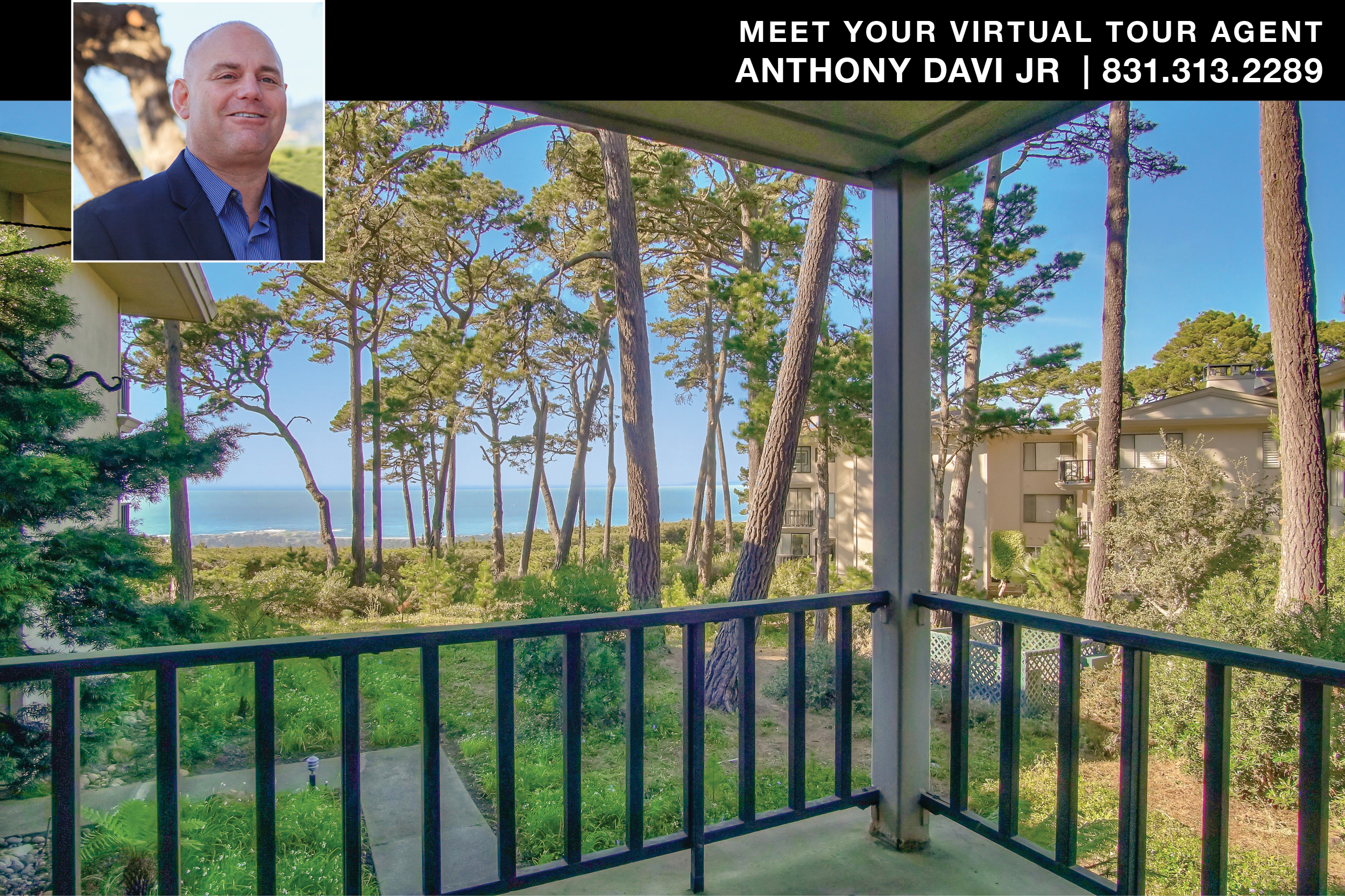 Pebble Beach Ocean View Condo for sale