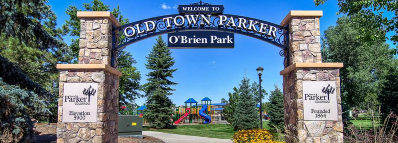 O'Brien Park in Parker Colorado