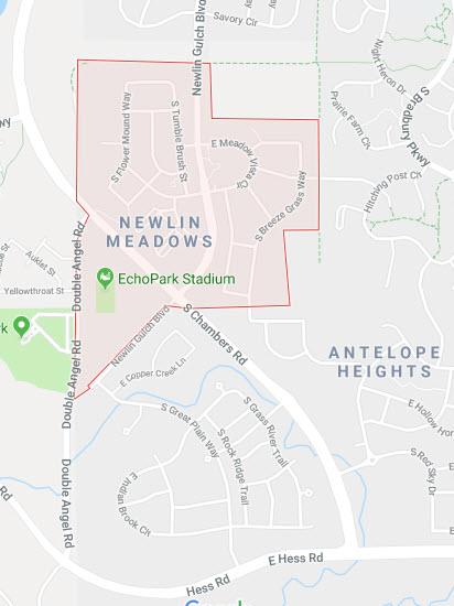 Newlin Meadows Google Maps