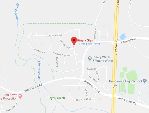 Pinery Glen Google Maps