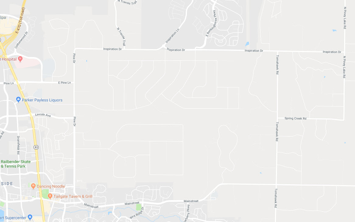 Ponderosa Hills Google Maps