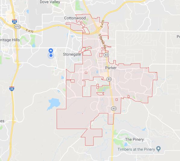 downtown parker google maps