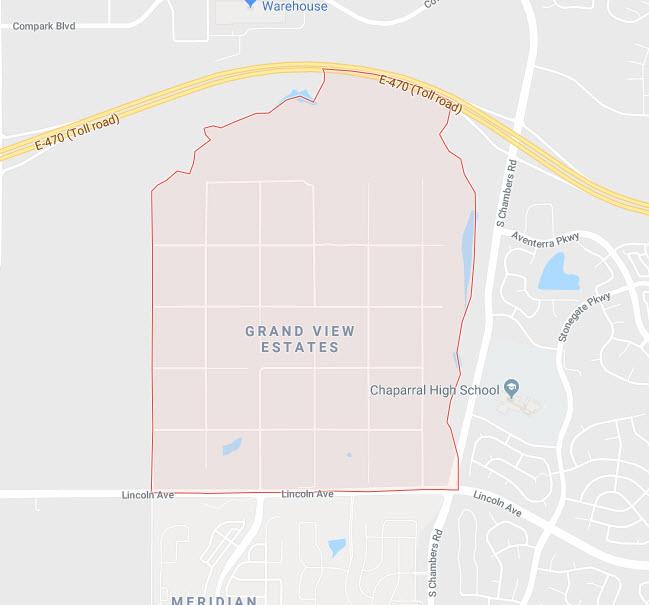 Grand View Estates Google Maps