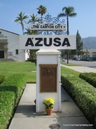 City Of Azusa Sign The Canyon City searchsangabrielvalley.com