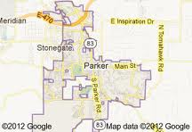 Douglas County Southwest Real Estate Search by map