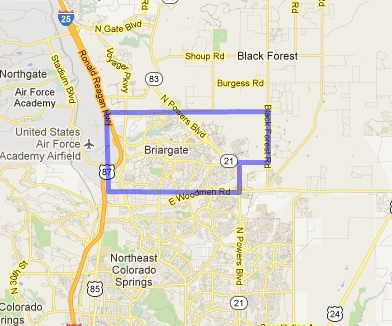 Search Briargate Real Estate By Map