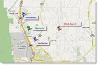 Search Tri-Lakes area real estate by map