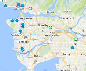 Vancouver Houses for sale map search
