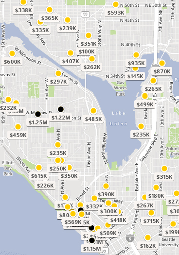 Seattle Homes Group Recent Sales