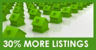 30% more real estate listings