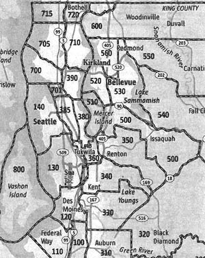 Redmond Zip Code Map.Nwmls Areas Should They Stay Or Should They Go