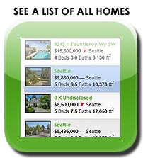 List of homes for sale in Mercer Island