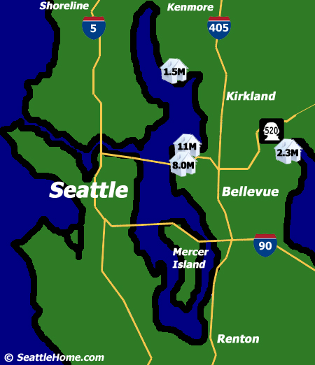 Seattle Waterfront Homes - The Eastside