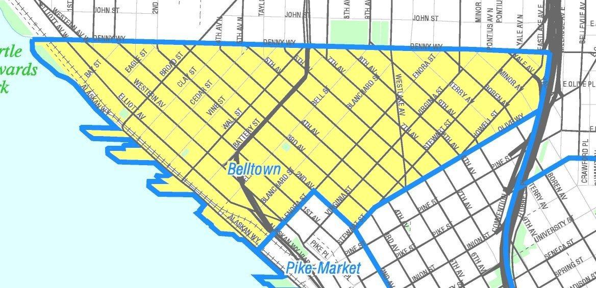Bell Town Map