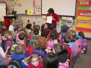 Kindergarten Story Time at Puesta del Sol Elementary, Bellevue