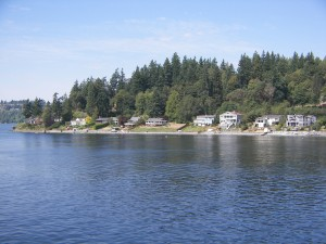 Waterfront Homes near Bremerton
