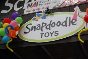 Snapdoodle Toys in Kenmore provides brilliant fun!