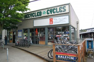Recycled Cycles in the U District