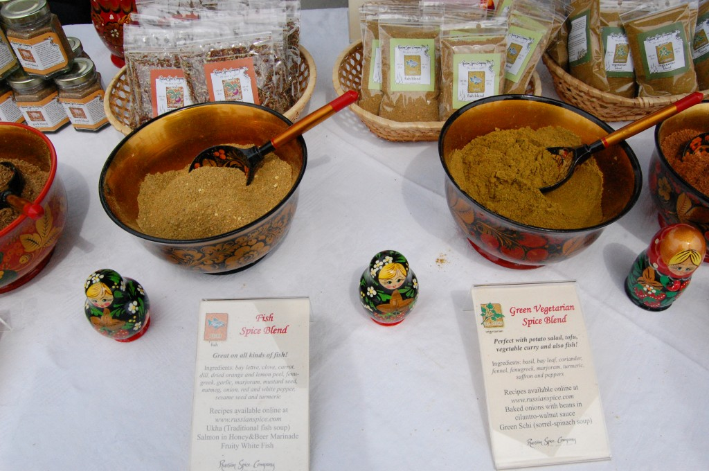 Spice Blends from Russia