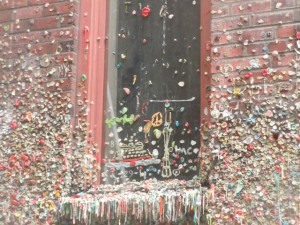 Gum Wall of Pike Place Market