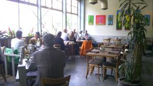 Dining Room at Cafe Flora