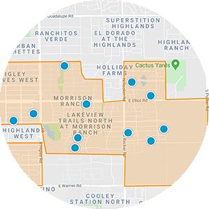 Morrison Ranch Real Estate Map Search