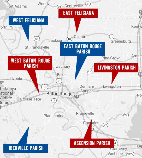 Explore Greater Baton Rouge Real Estate