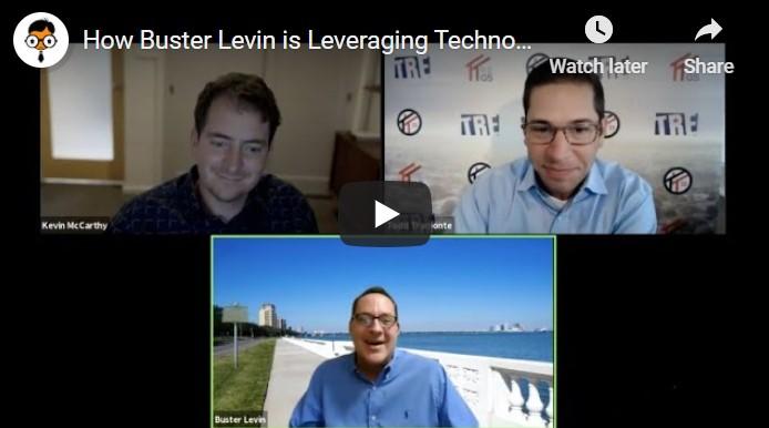Real Geeks Webinar Buster Levin