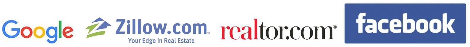 Realtor Zillow Facebook Google