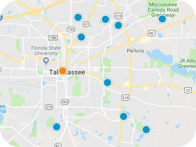 Tallahassee Real Estate Map Search