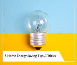 5 Energy Saving Tips
