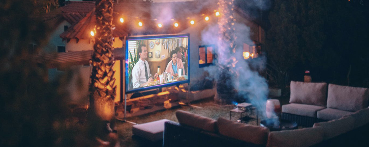 What You Need to Host Outdoor Movie Night