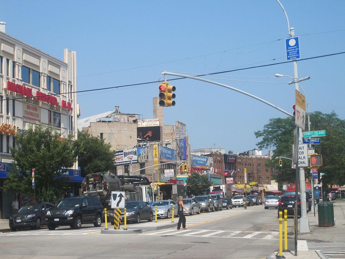 Brighton Beach Brooklyn Neighborhood.