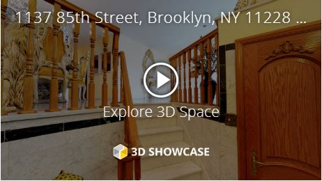 Sample of Virtual 3D Tour I create to sell homes in Brooklyn.