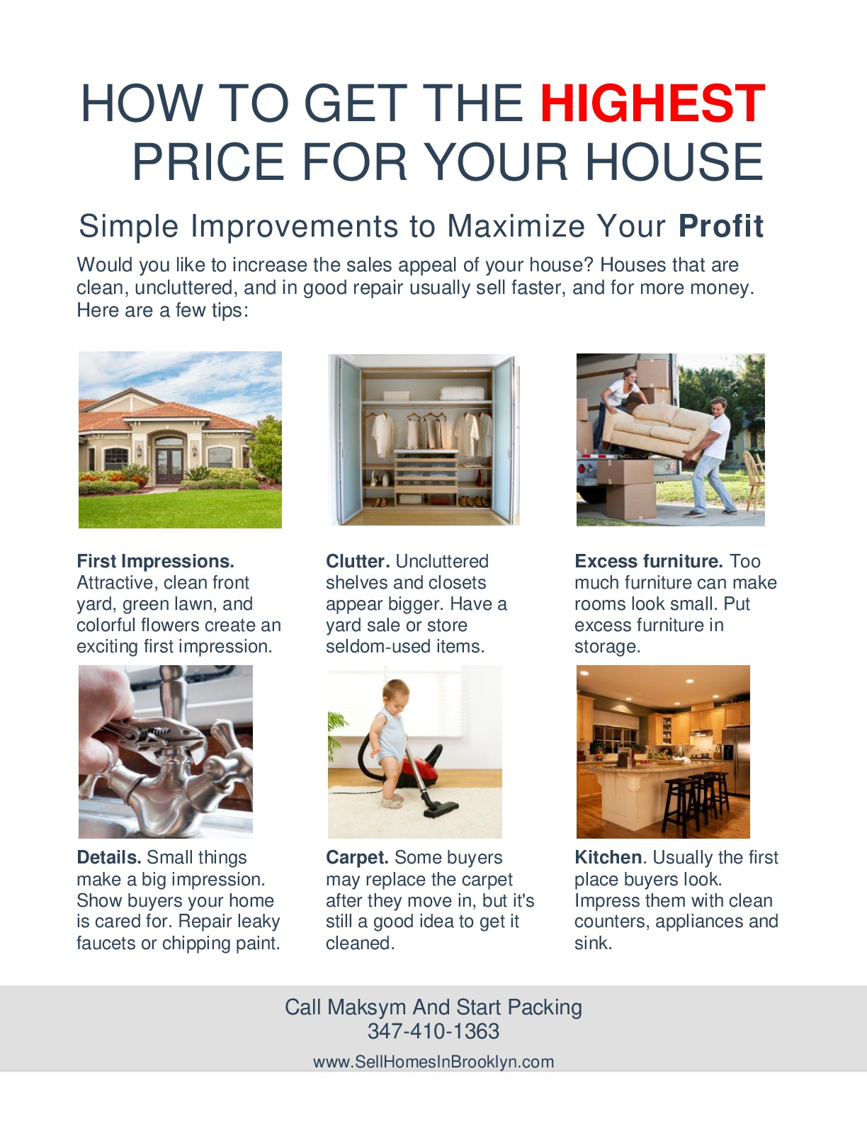 Sell your home in Brooklyn In 90 Days Part 2