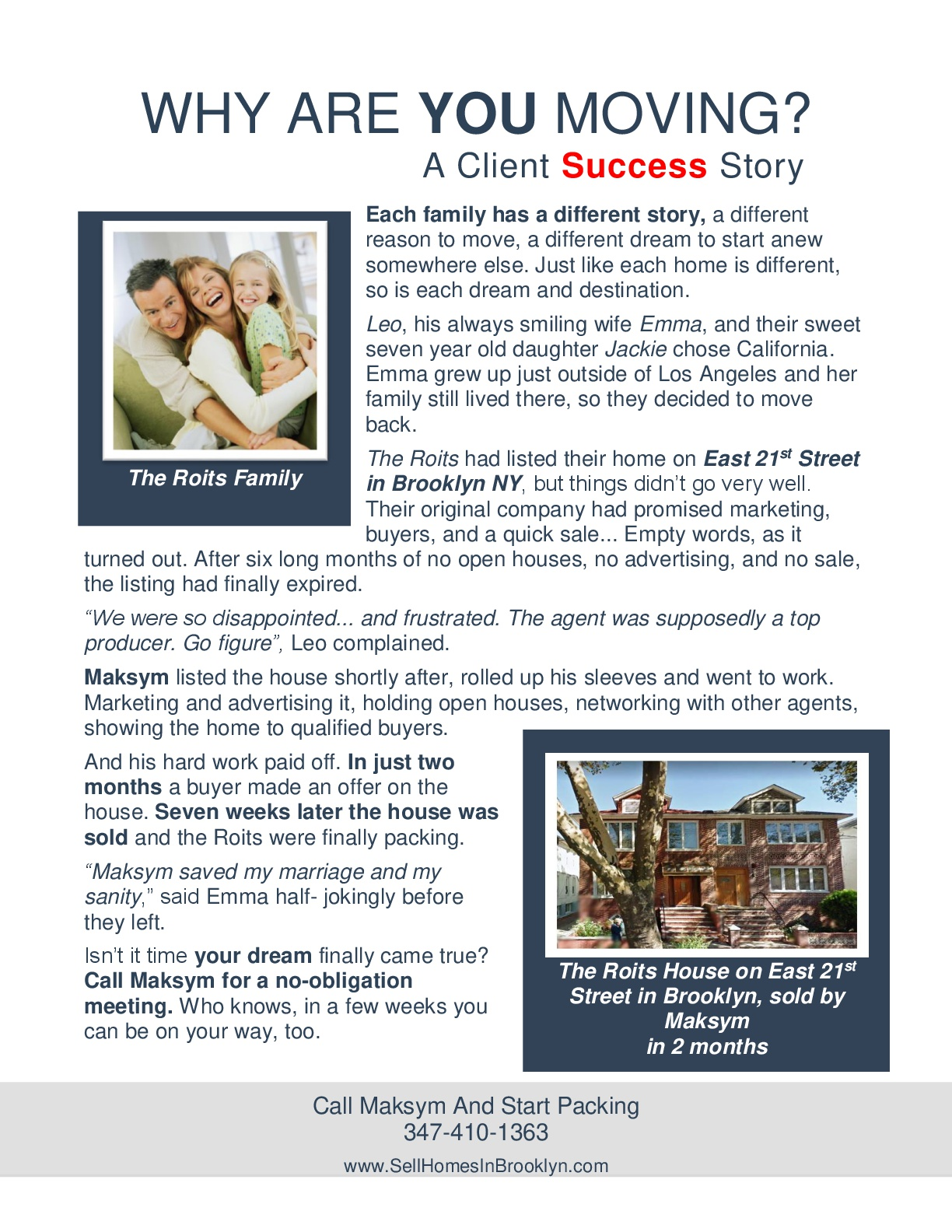 Sell your home in Brooklyn In 90 Days Part 3