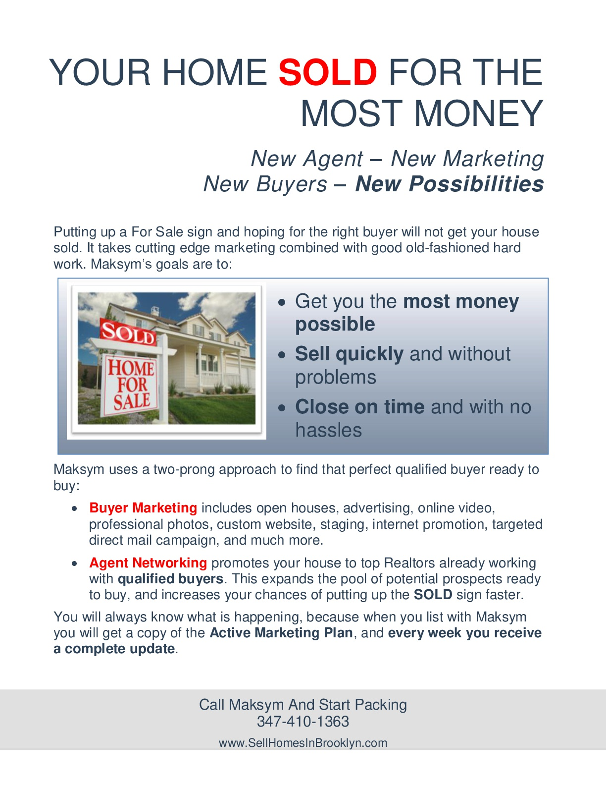 Sell your home in Brooklyn In 90 Days Part 6