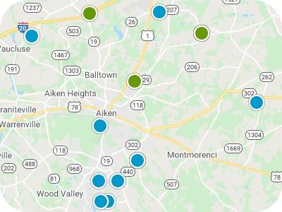 Aiken & CSRA Real Estate Map Search