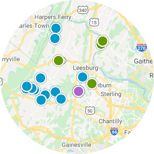 Northern Virginia Real Estate Map Search
