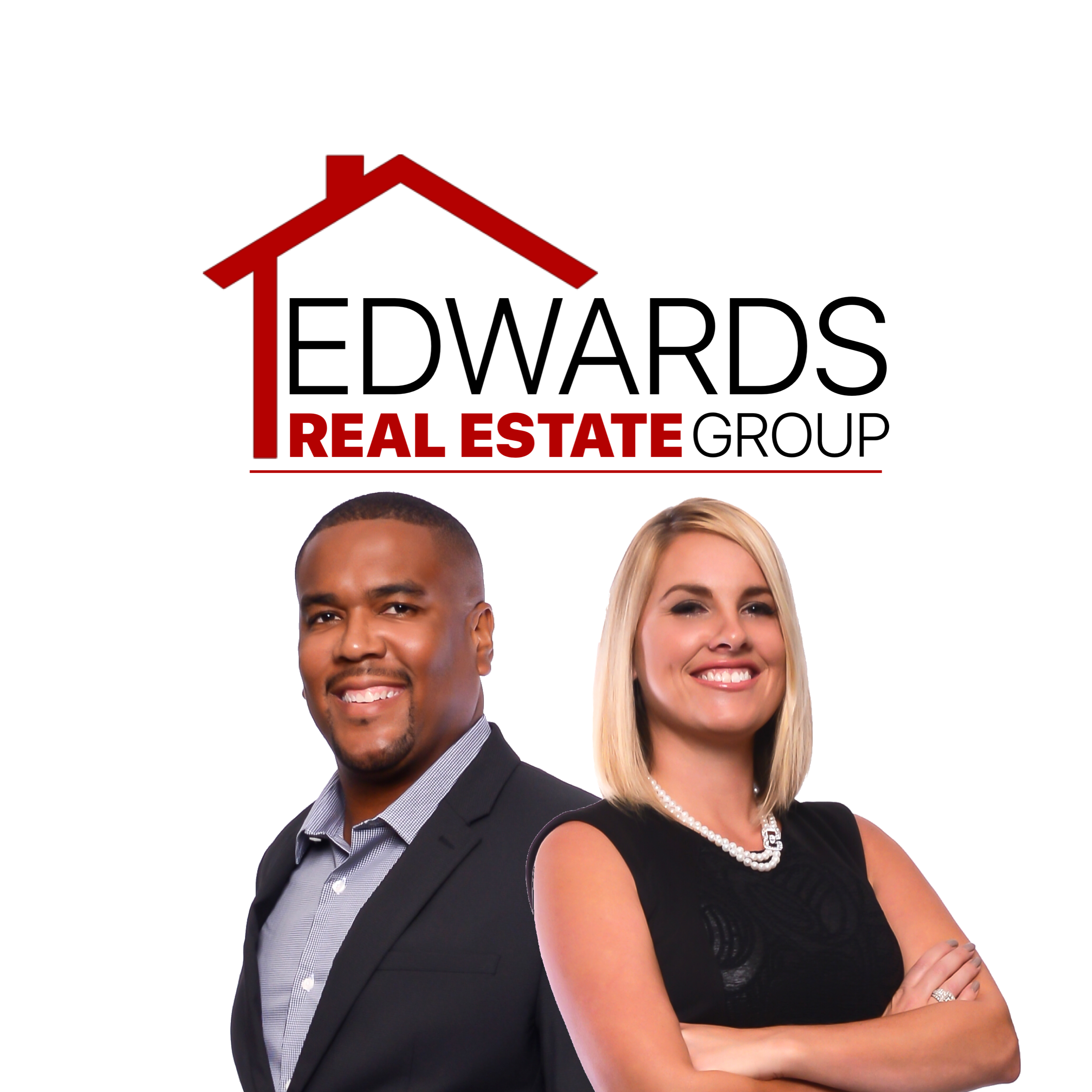 Corey & Heather Edwards with The Edwards Real Estate Group