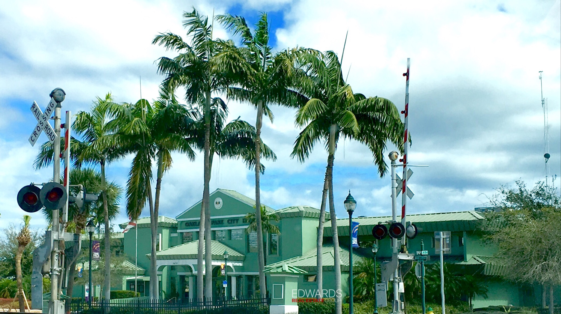 Oakland Park Town Hall located off Dixie Highway