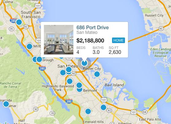 Search South San Francisco By Map
