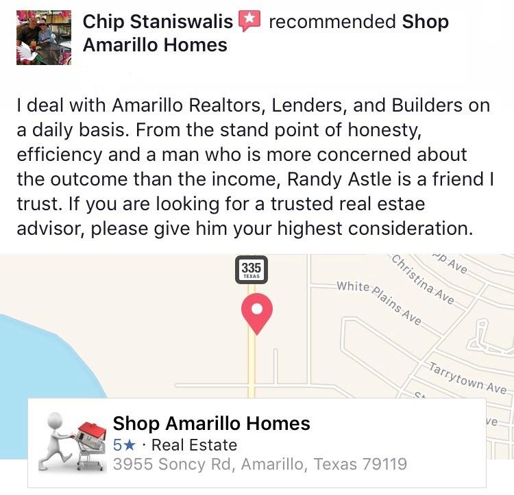 Randy Astle Facebook Review