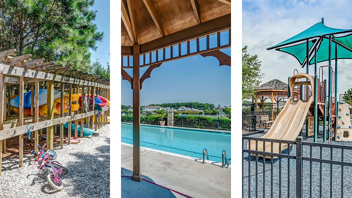 bayside ocean city playground pool