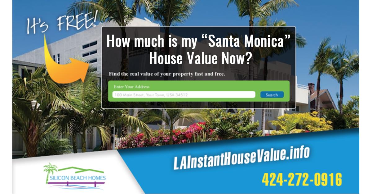 Santa Monica House Value