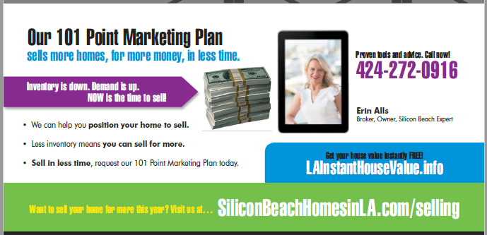 Selling Homes In Silicon Beach Erin Alls Marketing Plan