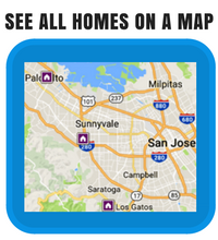 Map Search Homes for Sale in Almaden Valley Real Estate