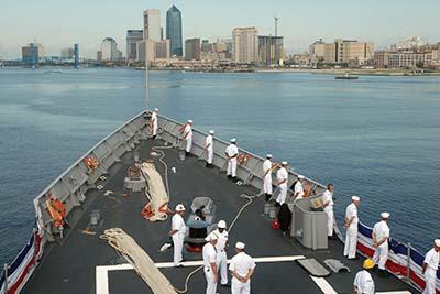 javksonville navy ship